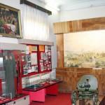 експозиція історичного відділу - бойовий шлях Миколи Щорса